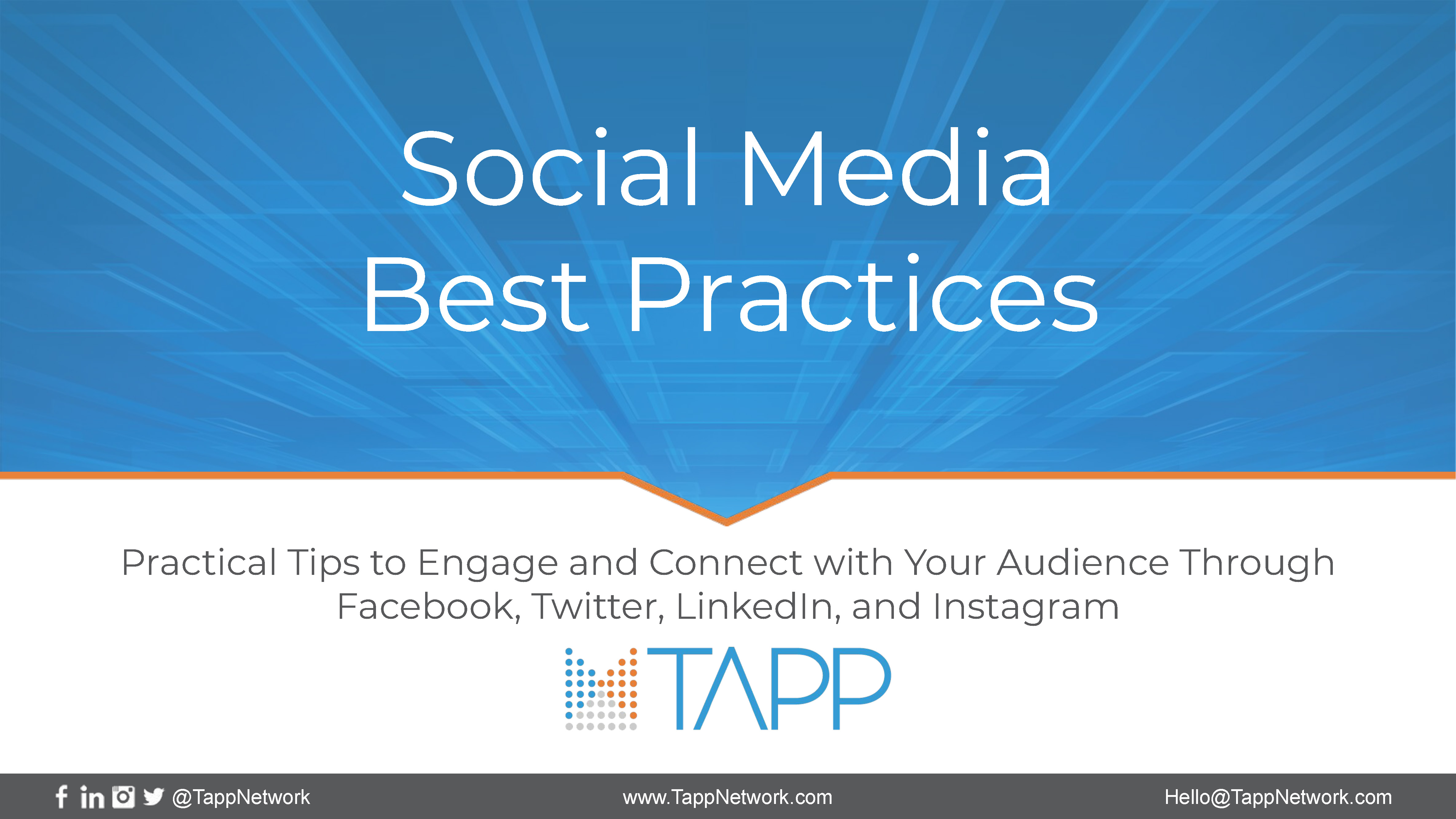 Social Media Best Practices cover image